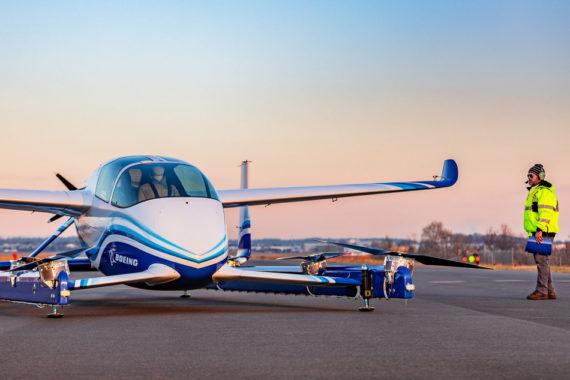 Boeing eVTOL Air Taxi