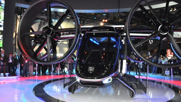 Bell Nexus eVTOL UAM Air Taxi