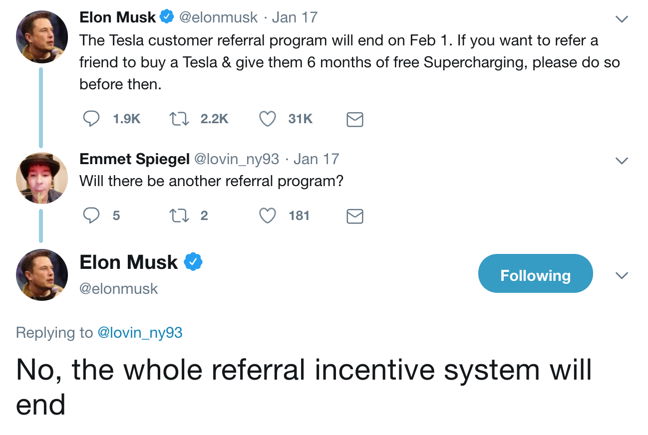 Last Call To Get Free Supercharging Using A Tesla Referral Code Ends
