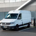 photo image VW Commercial e-Crafter Electric Cargo Van Makes UK Debut
