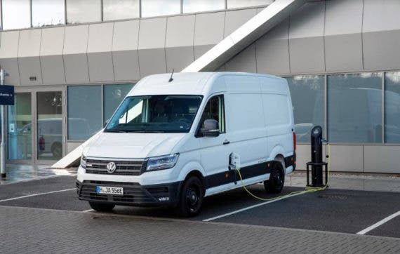 Vw Commercial E Crafter Electric Cargo Van Makes Uk Debut