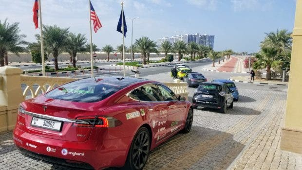 1442455d74 The 2019 Electric Vehicle Road Trip Charges Into The Middle East ...