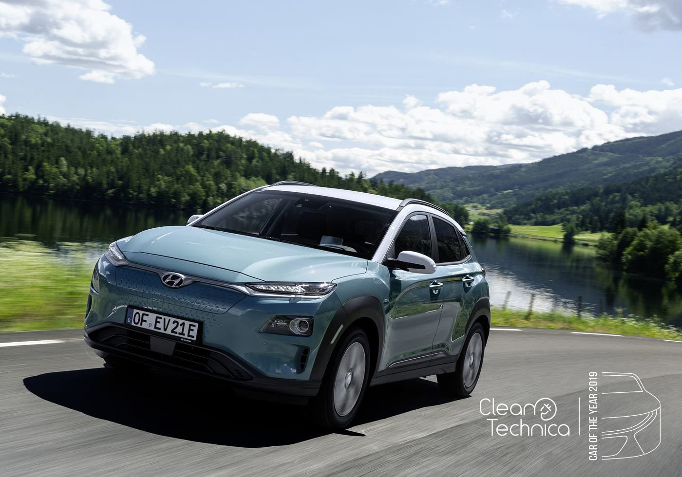 photo of Hyundai Kona EV Wins 2019 CleanTechnica Car of the Year Award image