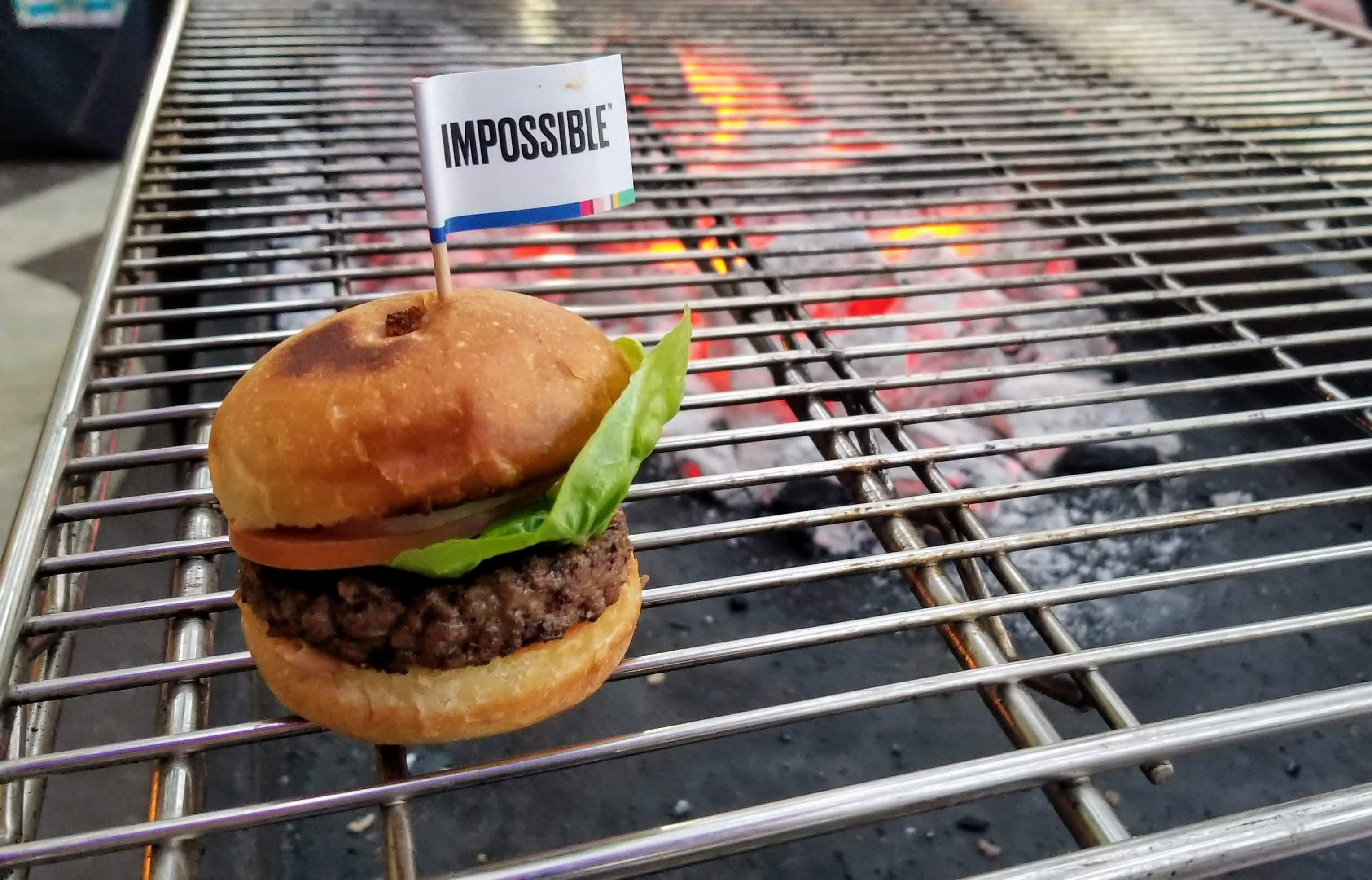 photo image Impossible Foods Rolls Out The All New Impossible Burger 2.0 At #CES2019