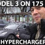 175 kW Hypercharger Doesn't Charge Tesla Model 3 … At All (Video)