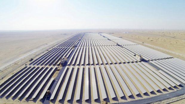 Abu Dhabi solar farm