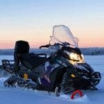 Aurora eSled electric snowmobile