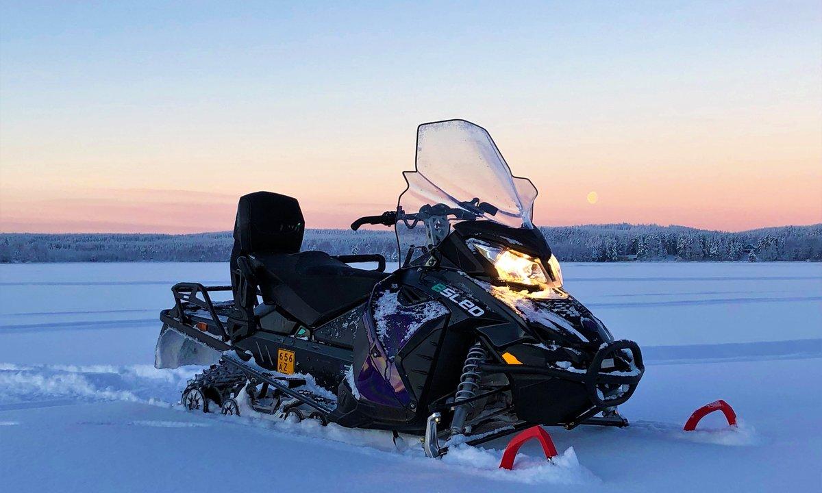 Aurora eSled electric snowmobile