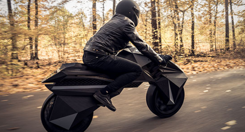 photo of A Wild & Futuristic Motorcycle That Is 3D Printed & Has Airless Tires — Welcome To The Future image