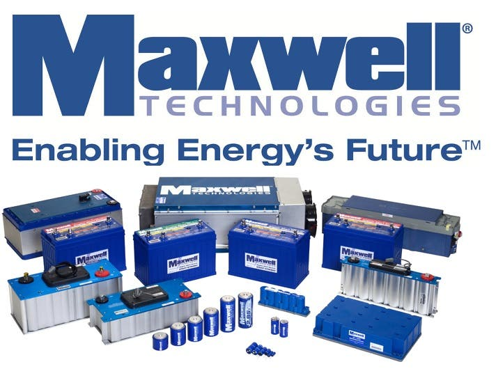 Maxwell Technologies Product Range
