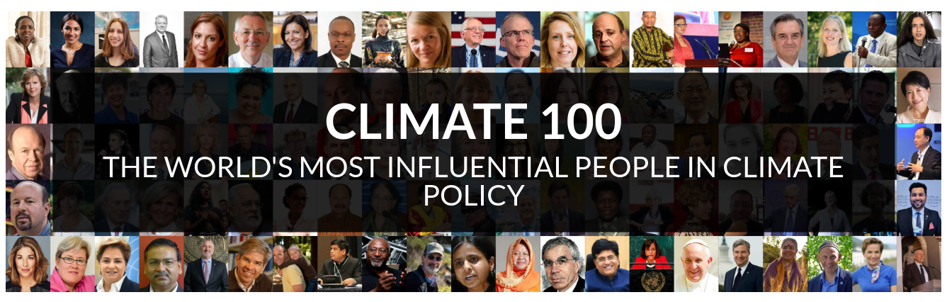Apolitical Top 100 Climate heroes