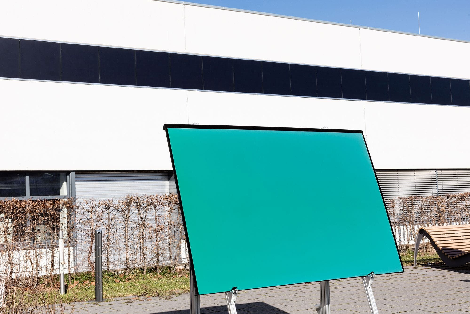 Coloured solar BIPV modules
