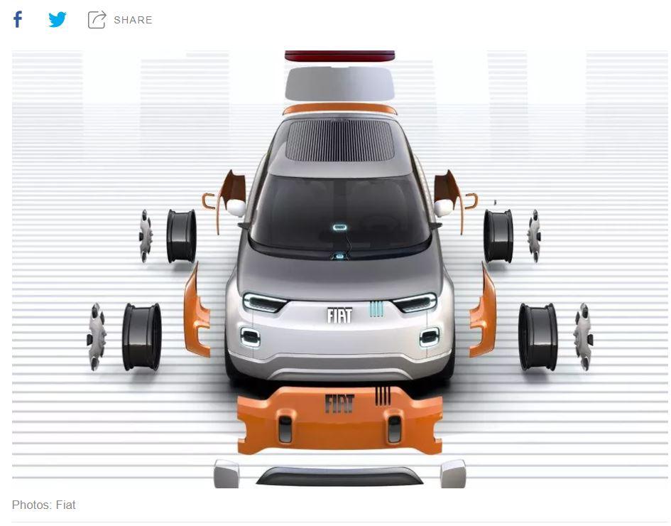 Fiat Centoventi Concept EV