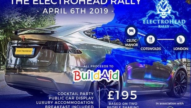 Electrohead Rally Poster