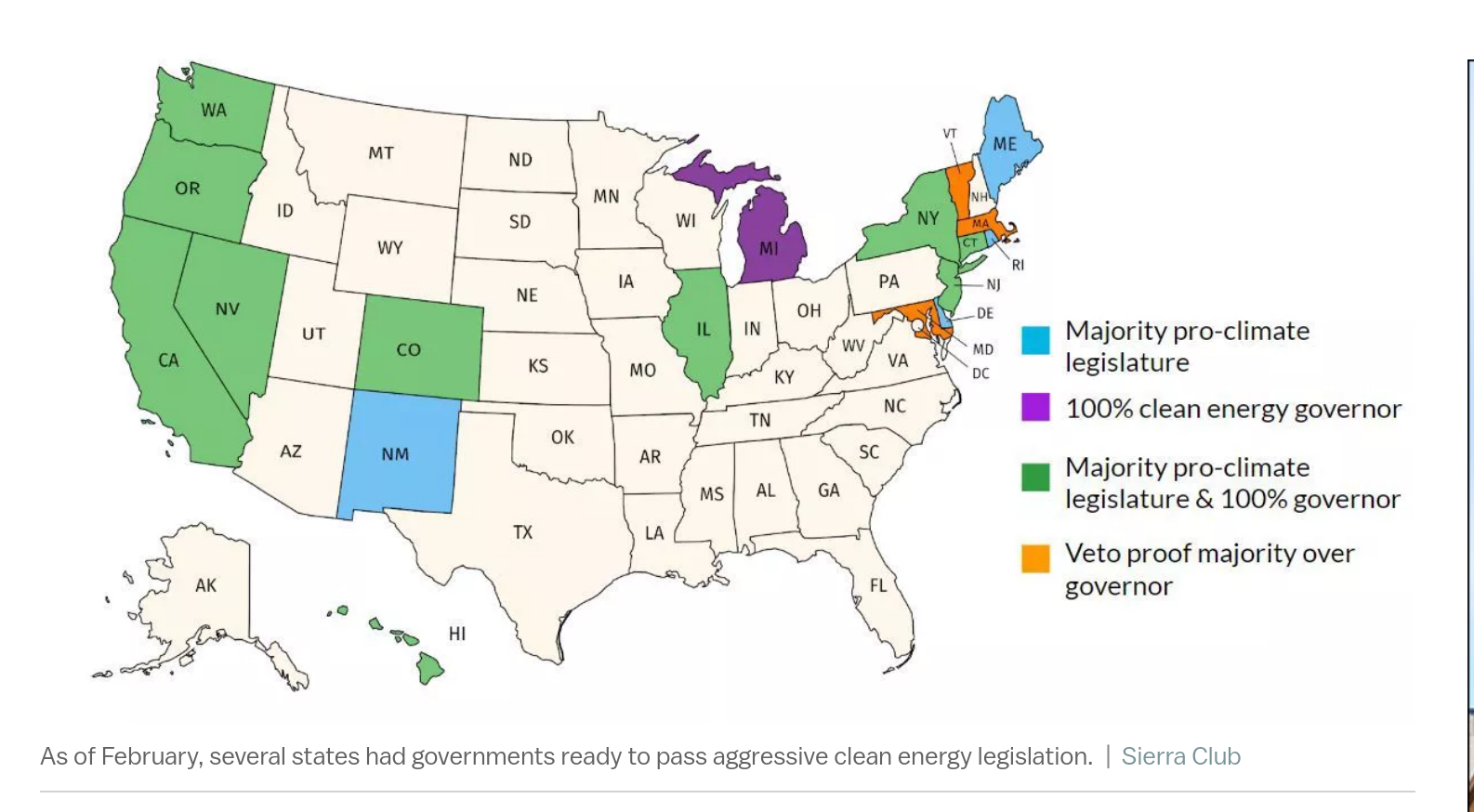 Green New Deal Senate Vote Can't Stop The States | CleanTechnica