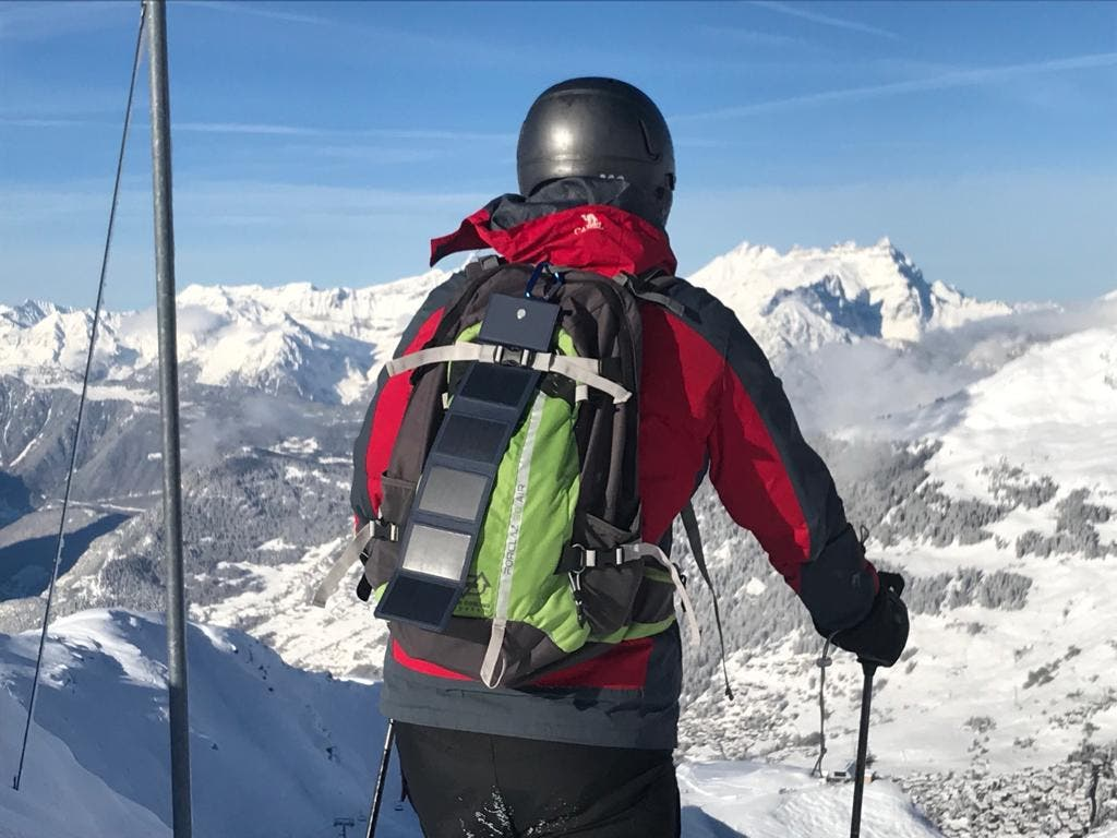 Sunslice Adds Backpack Charger To Its Portable Lineup   CleanTechnica