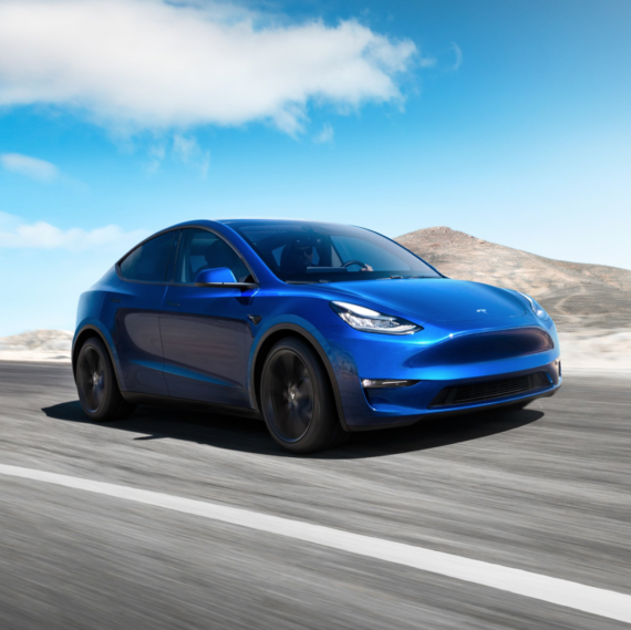 "Tesla Brings ""S3XY"" To Life With Model Y Launch"
