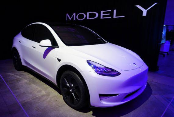 White Kia Soul >> Tesla Model Y Prototype Spotted On Road Near Tesla HQ (VIDEOS) | CleanTechnica