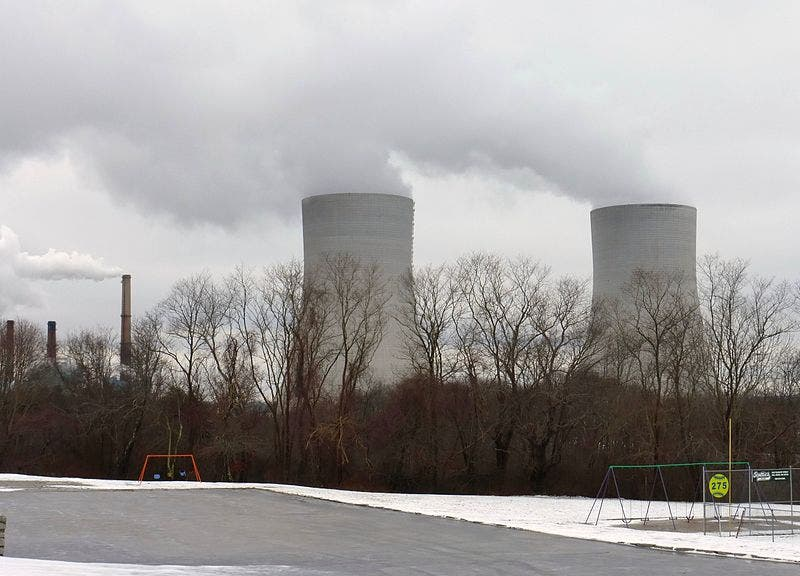 Brayton Point cooling towers
