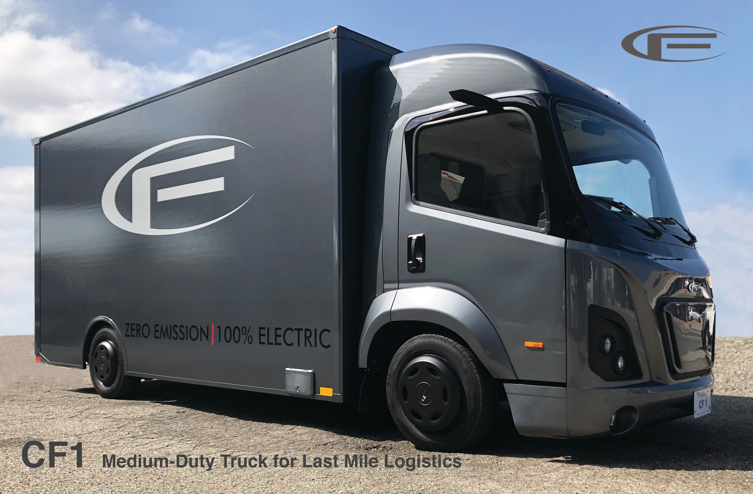 CityFreighter Unveils Its Electric CF1 Prototype Class 4 Truck At ACT Expo | #CleanTechnica Exclusive