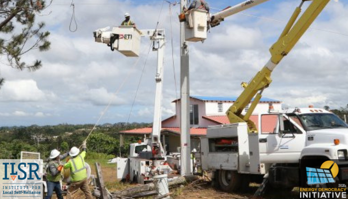 photo of Rebuilding Puerto Rico's Electricity System Democratically image