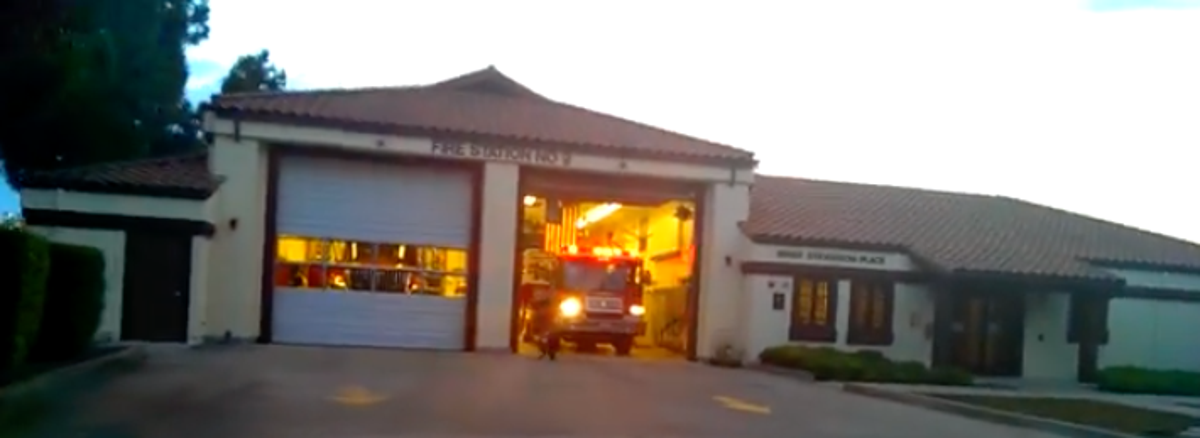Fremont, California, Fire Station Is First In US With Solar