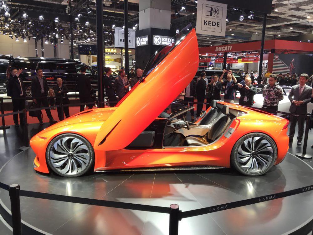 7 More Shiny Shanghai Auto Show Highlights — Karma SC1, Karma Revero