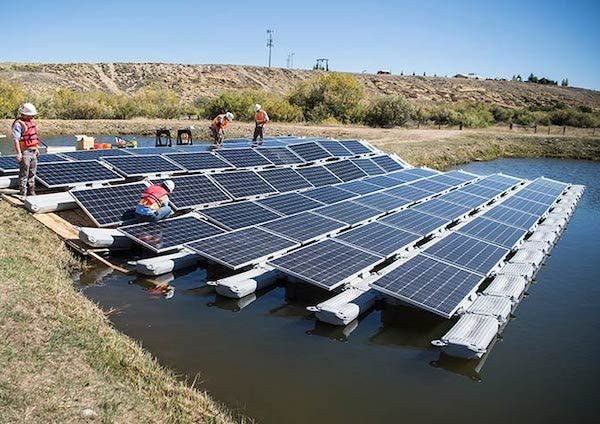 floating solar renewable energy