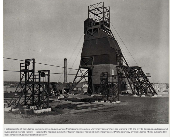 Turning Lemons Into Lemonade: Michigan Researches Converting Abandoned Mines Into Energy Storage