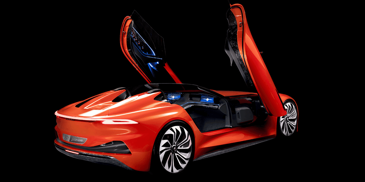 Karma electric roadster concept
