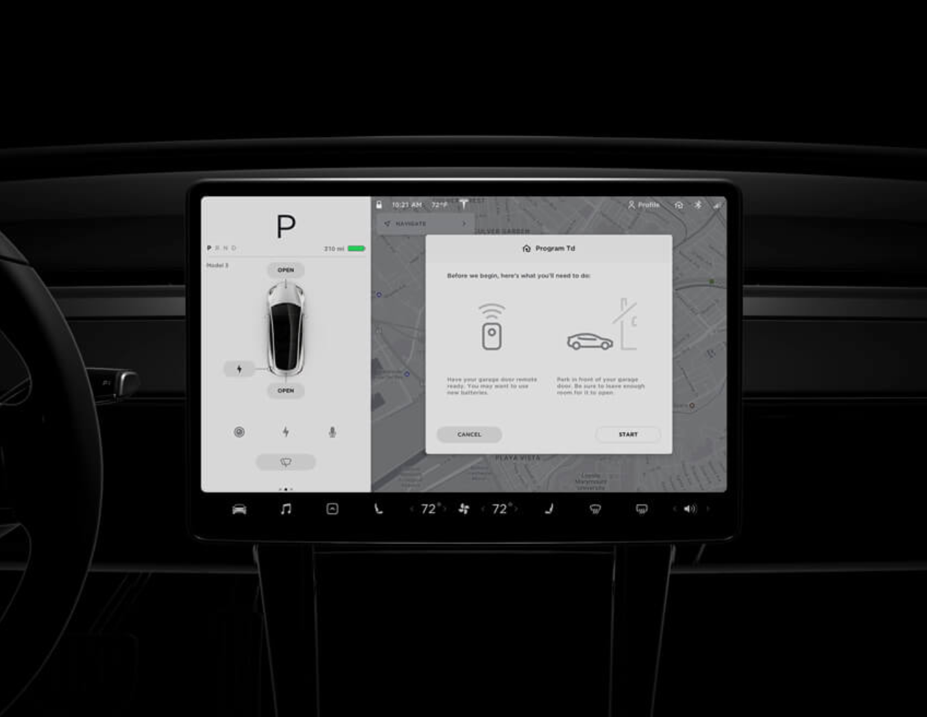 Tesla Demonstrates Its Agility With New Homelink Option For Model 3 Owners