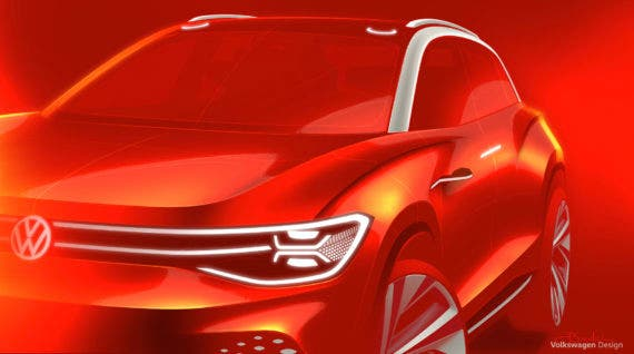 Volkswagen Will Unveil 7-Passenger ID Roomzz Electric SUV At Shanghai Show