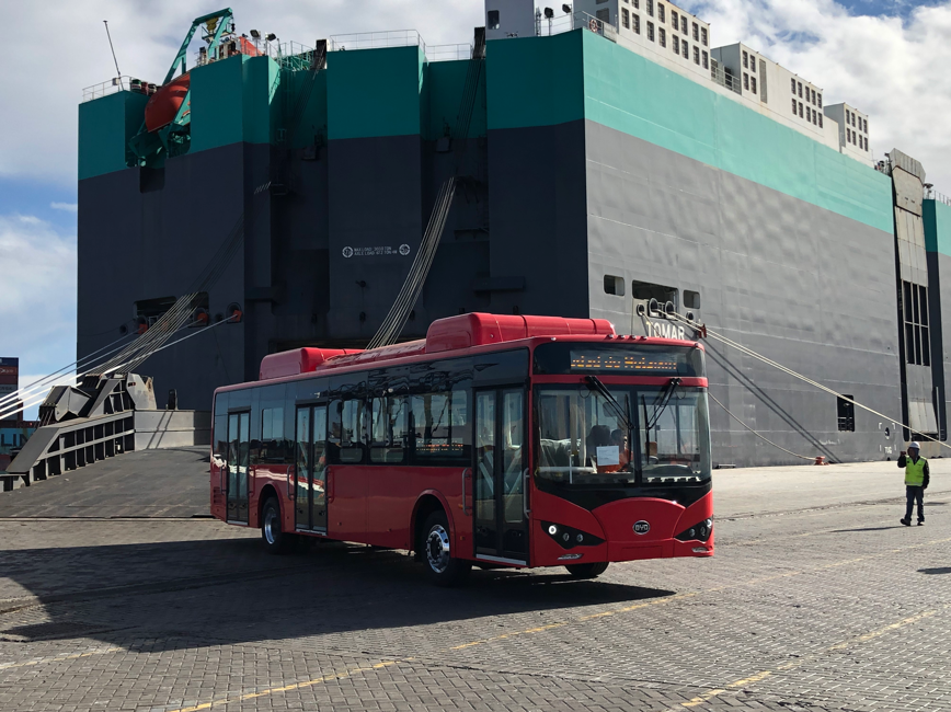 photo of BYD Delivers The First Fleet Of Electric Buses To Argentina image