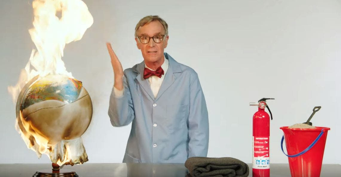 Bill Nye The Science Guy Explains Global Warming In Words