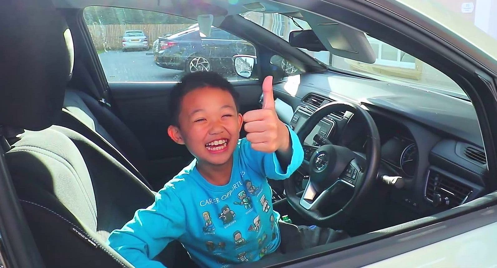 photo of Charging An EV Is Child's Play! image