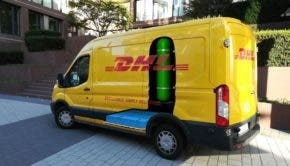DHL fuel cell panel van