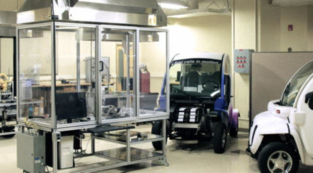 fuel cell research lab