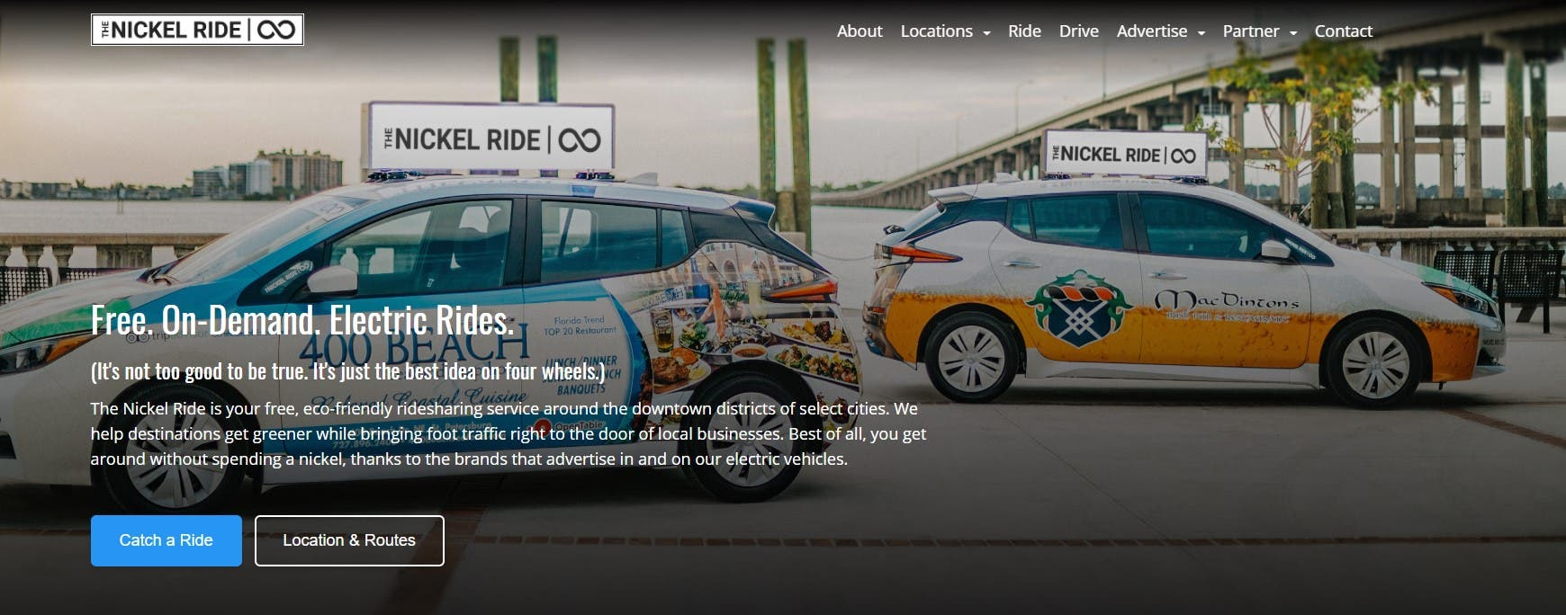 photo of Nickel Ride Finds EVs Are So Affordable … They Can Give Rides For Free image
