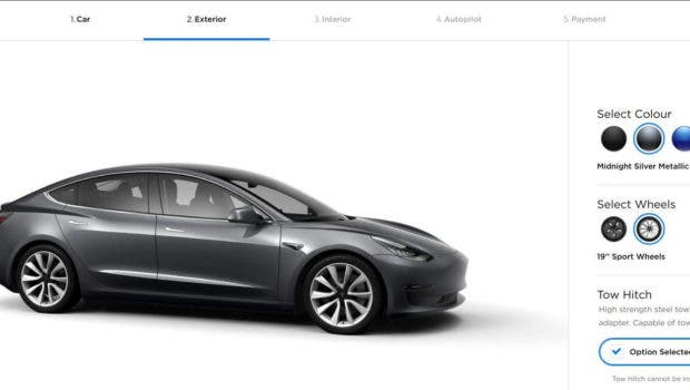 Tesla Adds Tow Hitch To Model 3 In Europe | CleanTechnica