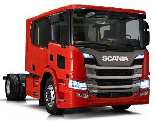 Scania battery electric