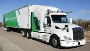 TuSimple self driving truck