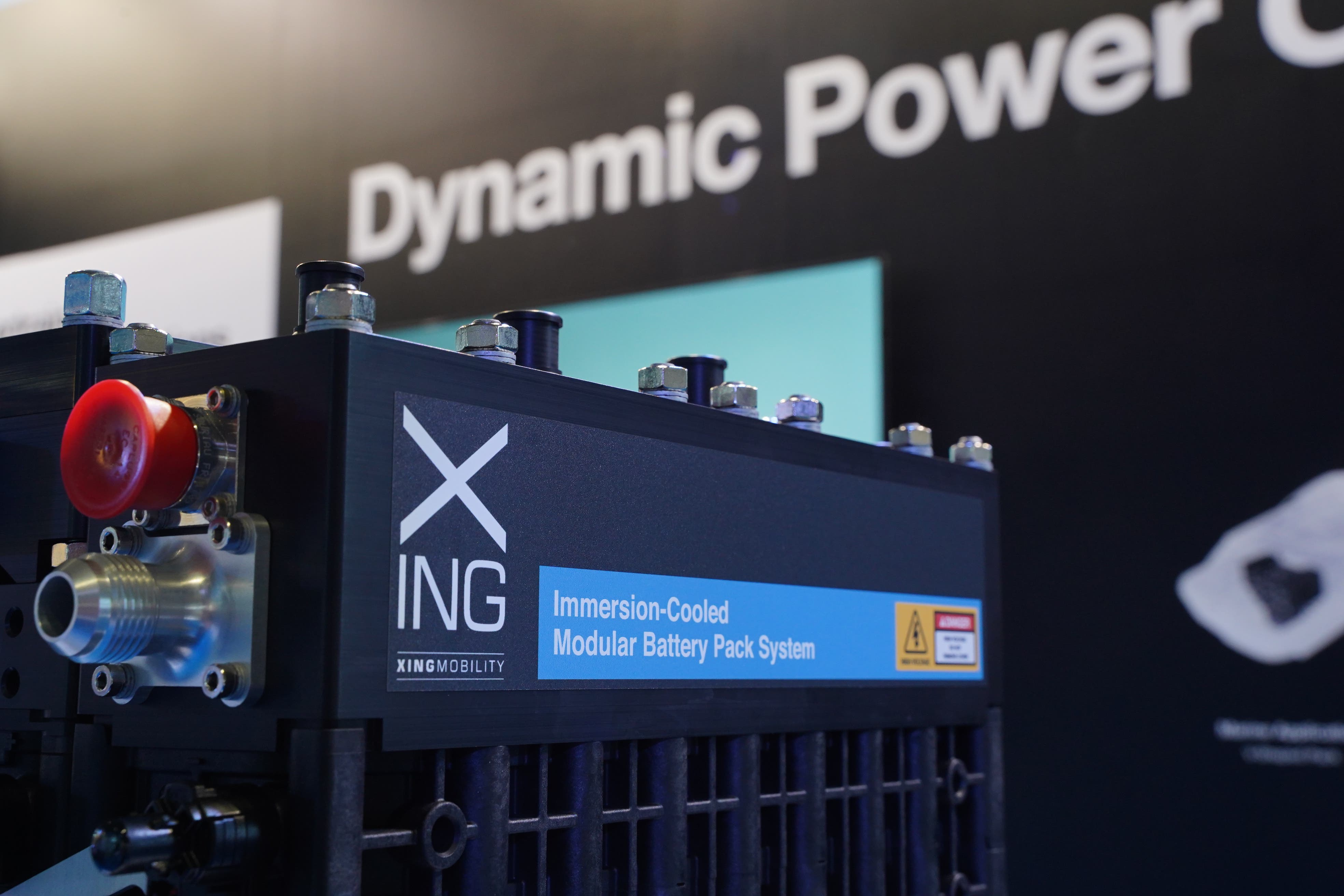 XING Mobility Introduces Immersion Cooled Modular Battery