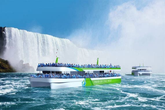 ABB Electrifies The Niagara Falls' Iconic Maid Of The Mist Ferries