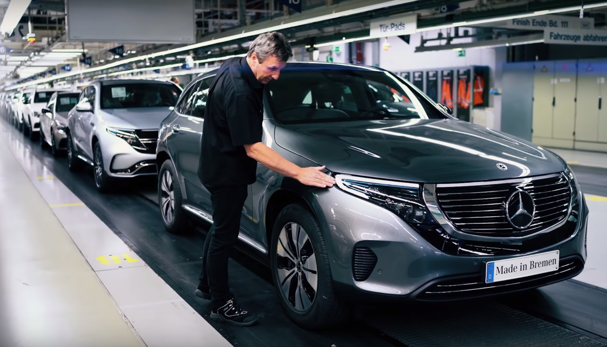 Mercedes Benz Flips The Switch On Eqc Production At Its Bremen Factory