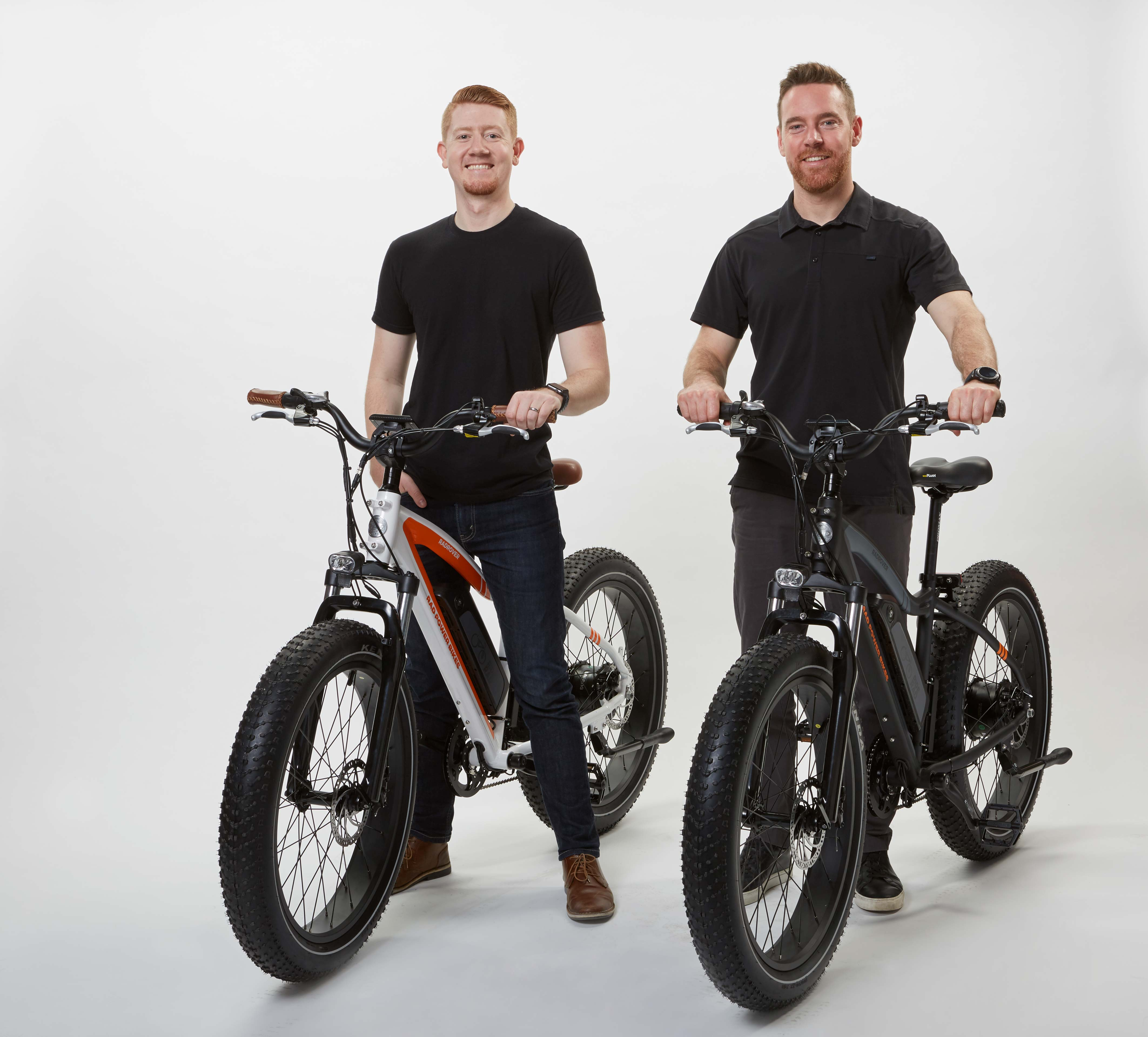 Rad Power Bikes founders Ty Collins and Mike Radenbaugh