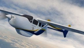 Ampaire Electric EEL commuter aircraft