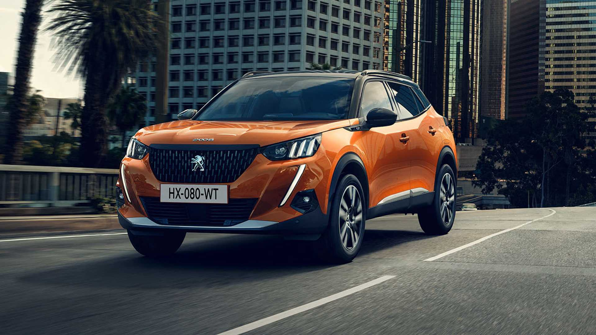 Peugeot 2008 electric SUV