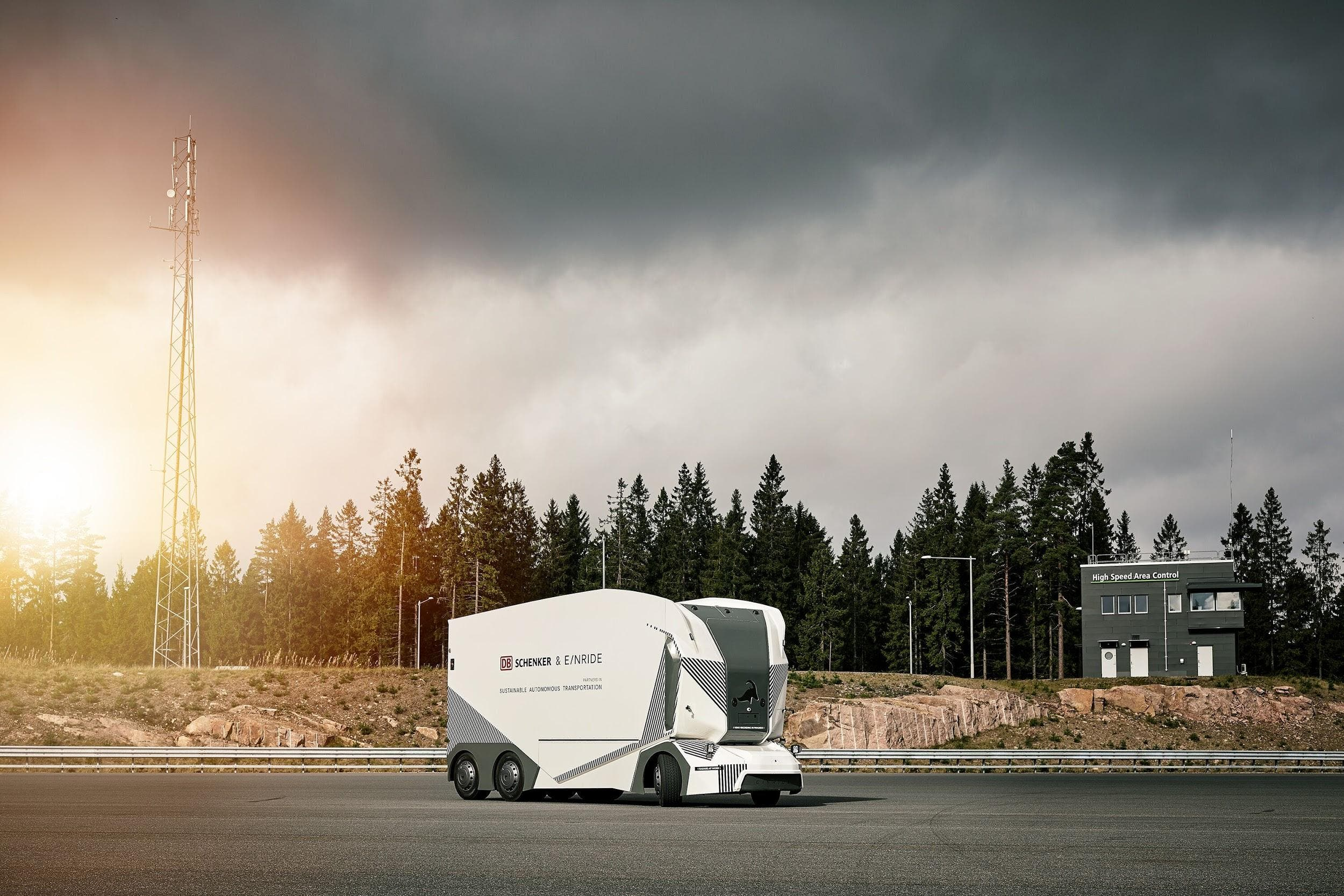 T-Pod electric autonomous truck