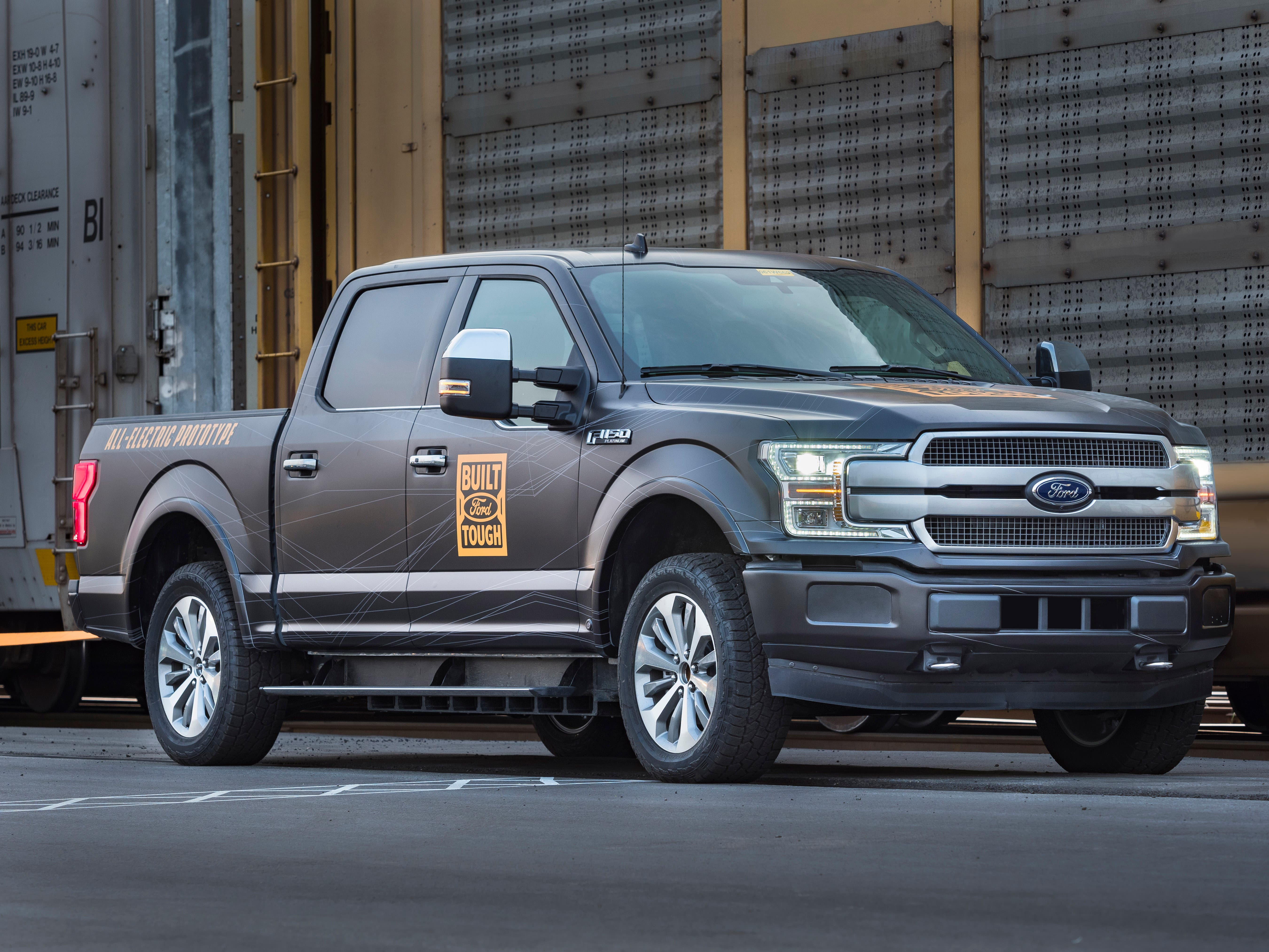 Breaking Video Photos Of Fully Electric Ford F 150