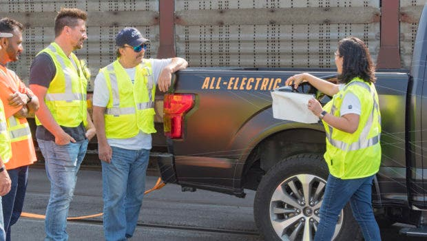 All Electric F-150 Engineer reveals to customers Source Ford